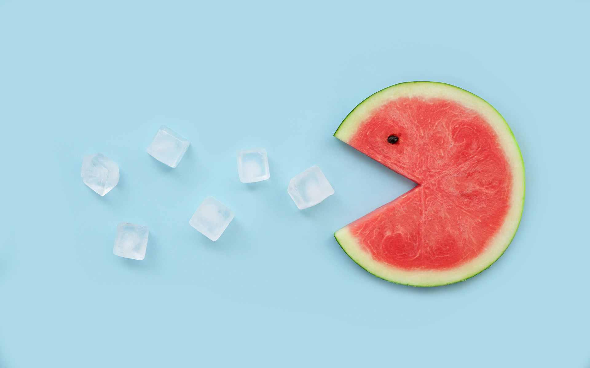 吃冰镇西瓜是很不科学的习惯